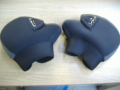 Neoprene Thermal Motorcycle Handlebar Bar Muffs Grip Warmers
