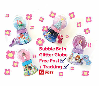 Disney Princess Kids Bubble Bath Glitter Globe 235ML Kid Favorite Shower