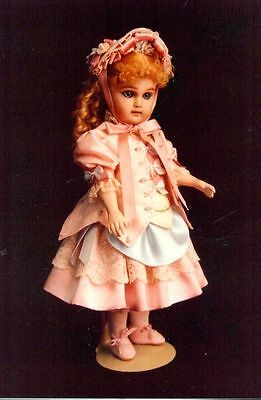 "10-11""antique French/german  Bebe Bru Jumeau  Doll Dress Jacket Hat Pattern"