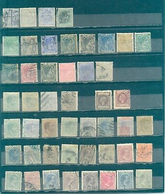 1Cuba Stamp Collection Used early issues Large lot 11 pages