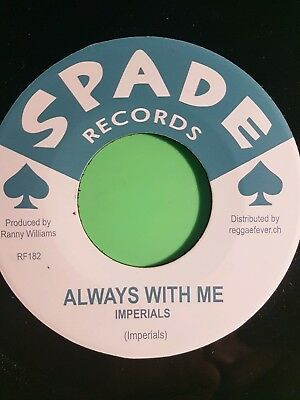 Always With Me / Sad Feelings Imperials 45