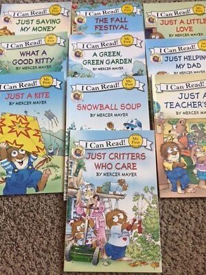 Lot of Little Critter Reader Books