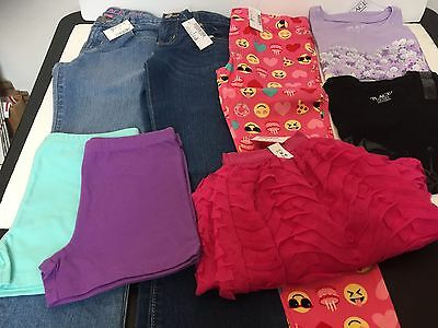 8 Piece Lot Of Girls Clothes Size 6X/7 7/8 New With Tags The Childrens Place