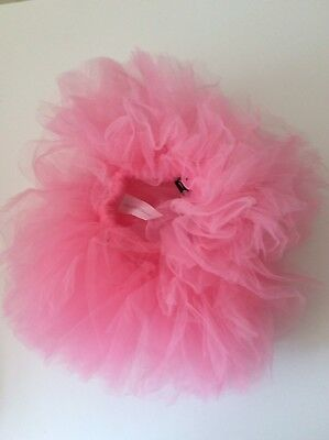 Beautiful Bright Pink Infant Crinoline Tutu Photo Prop NWT