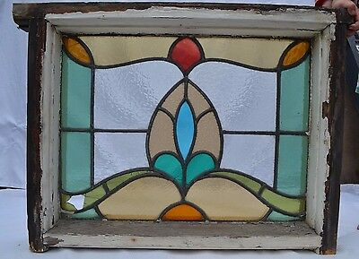 British leaded light stained glass window. B570.  DELIVERY OPTIONS!!!