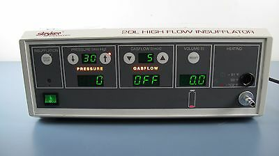 Stryker Endoscopy 20L High Flow Insufflator Ref. # 620-030-400