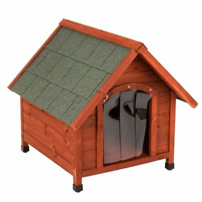 Wooden Dog Pet Kennel Small Medium Large XL Warm House Weather Proof Shelter