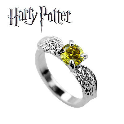 Harry Potter Golden Snitch Ring, Wizarding World, Noble, Quidditch, Hogwarts, HP