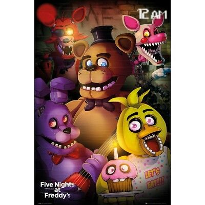Five Nights at Freddy's Group Poster