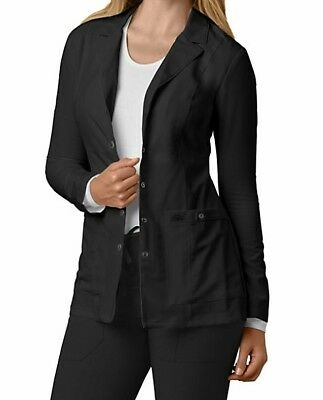 Dickies Xtreme Stretch 28 Inch Snap Front Lab Coats