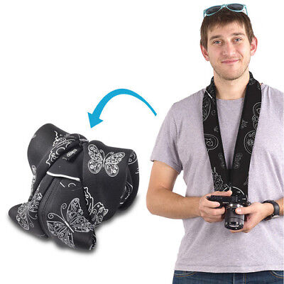 miggo Strap and Wrap for Mirrorless and Compact System Cameras (Royal Wings)