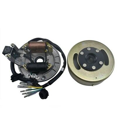 Ignition Magneto Stator Plate Flywheel for 110cc 125cc 140cc Pit Dirt Bike