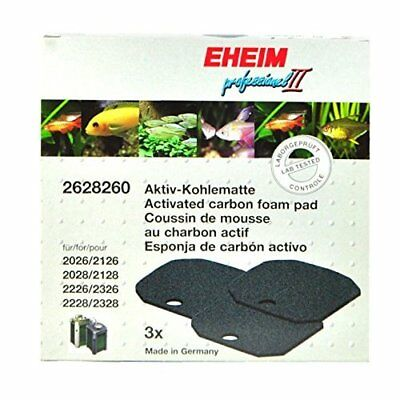 Eheim Activated Carbon Mats For 2026-2128 Prof Ii And 2226-2328 Prof