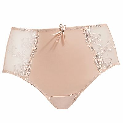 Pour Moi Imogen Rose Embroidery Brief- Latte (3804B)