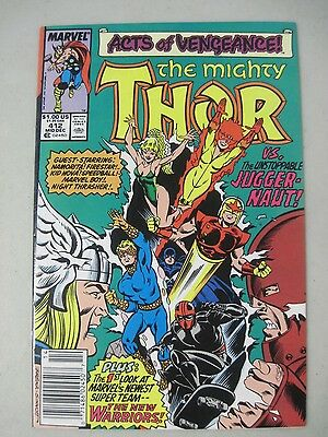 The Mighty Thor #412 Marvel Comics 1St Appearance The New Warriors
