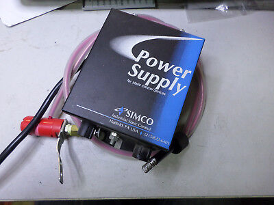SIMCO IONISING POWER UNIT and NOZZLE -- 7kV Output 240ac Supply - D257Q