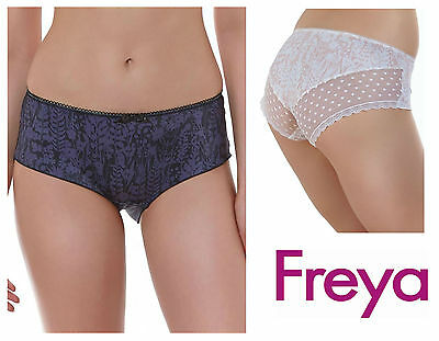 Freya Fearne Short Brief Knickers 4096 Sand Nude or Black * New Womens Lingerie