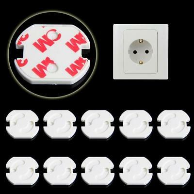 Chic 10pc EU Safety Electric Shock Outlet Plugs Cover Baby Child Protector Guard