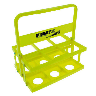 Summit Folding 6 Water Bottle Carrier Rugby/Football/Soccer/Sports/Game/Drink