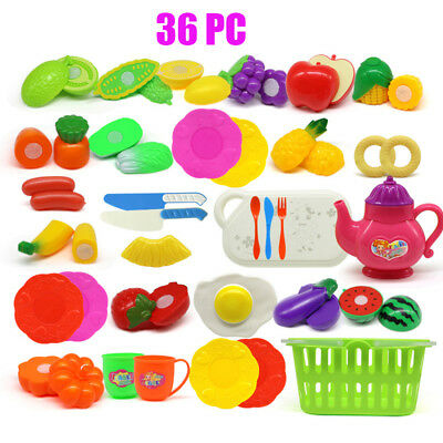 1Set Baby Nursery Toys Children Toys Hot Fruits And Vegetables Kitchen Toys
