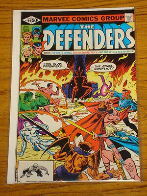 Defenders #99 Vol1 Marvel Comics Silver Surfer Apps September 1981