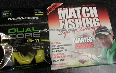 Maver Dual Core pro 8 - 11 Elastic + New Match Fishing Winter Fishing Volume 2