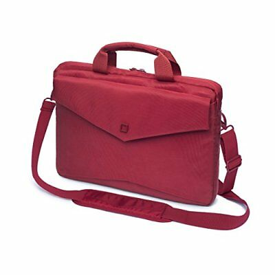 Dicota Code Slim Case for 15 inch Laptop - Red