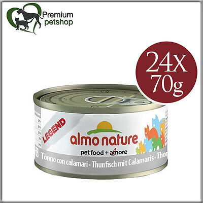 Almo Nature Legend Cat Food Tuna with calamaris 70g Wet Food for Cats