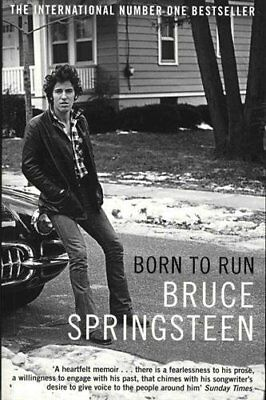 Born to Run by Bruce Springsteen New Paperback Book