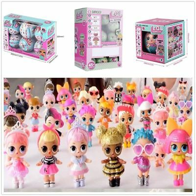 6/24Pcs LOL LIL SISTERS Surprise Dolls SERIES 2/1 Magic Eggs Doll Toys Gift -CA
