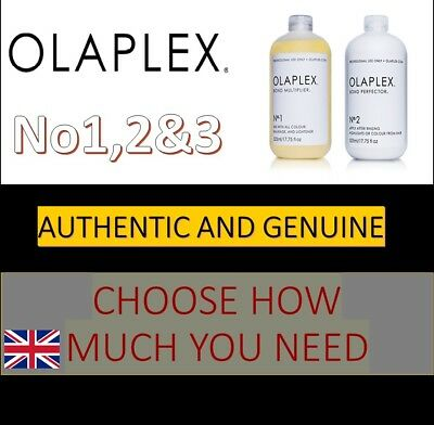 OLAPLEX No 1, 2 AND 3 - CHOOSE HOW MUCH YOU NEED