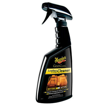 Meguiar's Gold Class Leather & Vinyl Cleaner Interior Superior Car Care Cleaning
