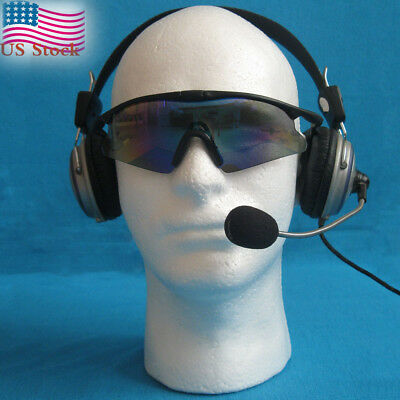 1PC Male Styrofoam Mannequin Manikin Head Model Foam Wig Hair Glasses Display US