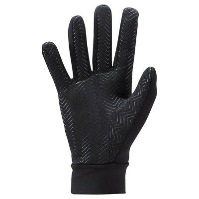 Football Outfield/Field Player Thermal Lined Silicon Grip Gloves 6yrs - Adult XL