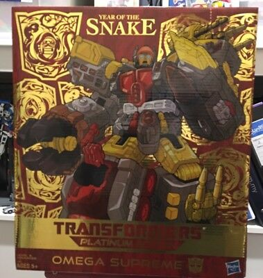 Transformers Omega Supreme Year of the Snake MIB