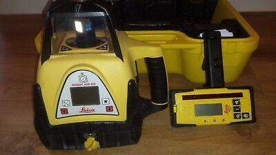 Leica Rugby 400DG Dual Grade Rotating Laser Level. Calibrated