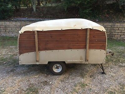 Classic camping trolley tent