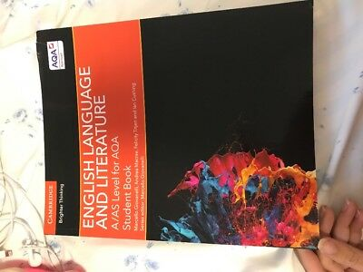 A/AS Level English Language and Literature for AQA Student Book by Andrea...