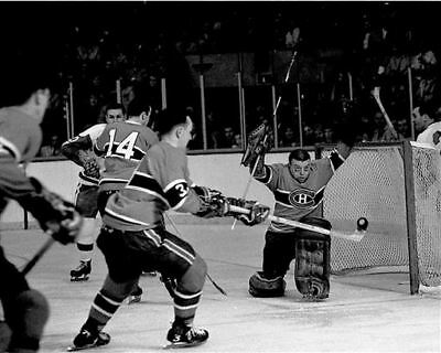Gump Worsley Montreal Canadiens 8x10 Game Auction Photo