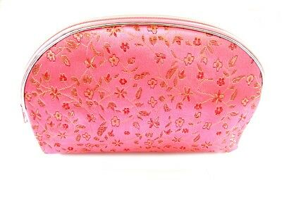 1 Set 5 Pcs Matching  Chinese  Pouch, for Cosmetic, Coin & Jewelry, Light Pink