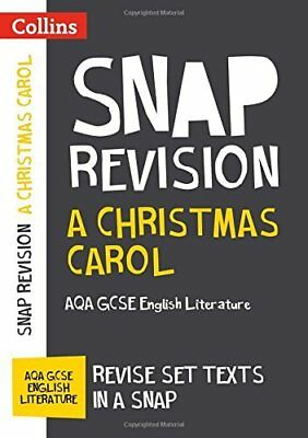 A Christmas Carol: AQA GCSE English Literatur by Collins GCSE New Paperback Book