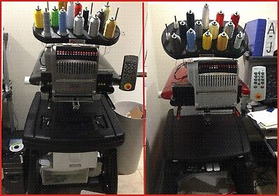 2 Melco Amaya Embroidery Machines -  plus lots of extras