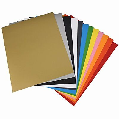 PU Iron On Heat Transfer Vinyl Starter Bundle for T-shirts and Other Fabrics 12