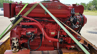 Fiat 330hp Marine diesel engine 800 hours. good turbo only 200hours .....!!!
