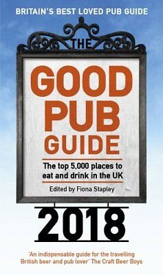 The Good Pub Guide 2018 by Fiona Stapley New Paperback Book