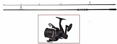 Shakespeare Cypry 2pc 10ft 3.00lb Carp Fishing Rod  Shakespeare Reel with Line