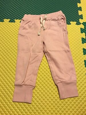Baby GAP Pink Girls Sweat Pants Size 18-24 Months