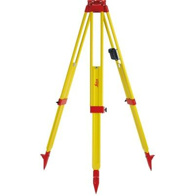 Leica GST20 Heavy Duty Wooden Tripod with Plumb Bob