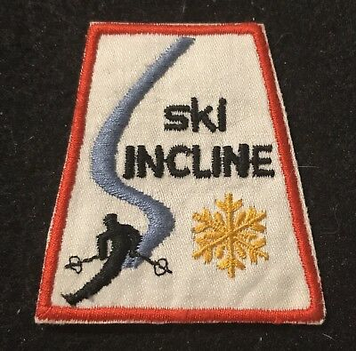 SKI INCLINE now DIAMOND PEAK Patch Skiing NEVADA NV Travel LOST NAME 1966-85