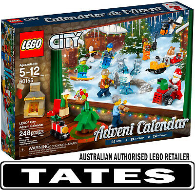 LEGO 60155 ADVENT CALENDAR CITY 2017 from Tates ToyWorld